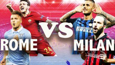 Lazio Roma vs AC Milan