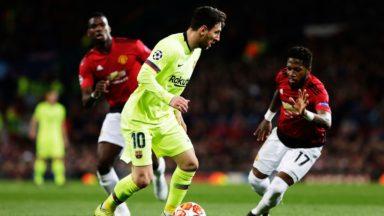 Barcelona vs Manchester United