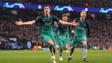Ajax Amsterdam vs Tottenham Hotspur