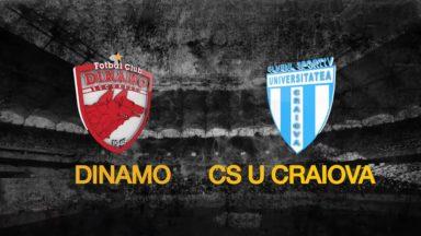 Dinamo Bucharest vs Universitatea Craiova