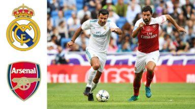 Real Madrid vs Arsenal