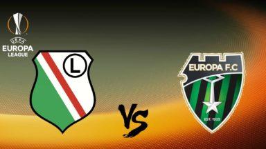 Legia vs Europa FC