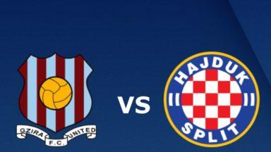 Hajduk Split vs Gzira