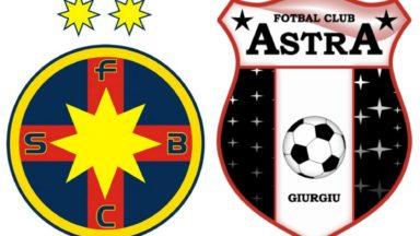 FCSB vs Astra Giurgiu