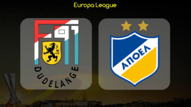 Dudelange vs APOEL Nicosia