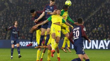 Paris SG vs Nantes