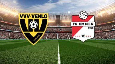 VVV Venlo vs FC Emmen