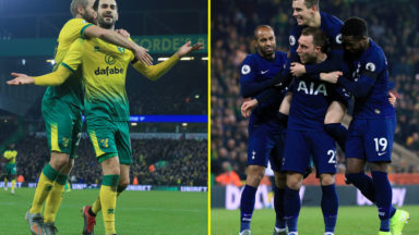 Tottenham Hotspur vs Norwich