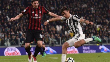 AC Milan vs Juventus Torino