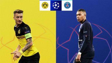 Borussia Dortmund vs Paris SG
