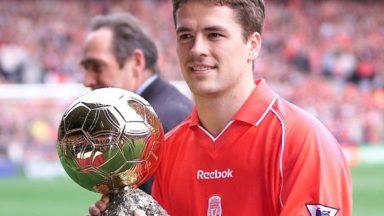 "Michael Owen ""polished"" the Golden Ball"