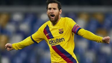 Lionel Messi made the announcement at the time