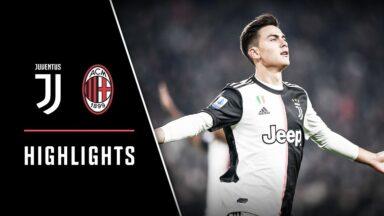 FC Juventus vs AC Milan