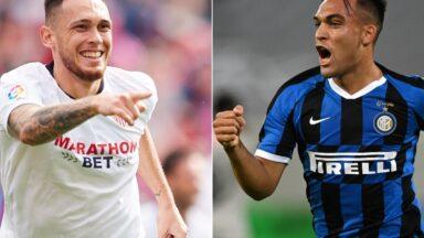 Sevilla vs Inter Milano